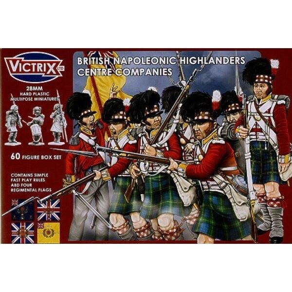 Highlanders britanniques, compagnes du centre - époque napoléonienne