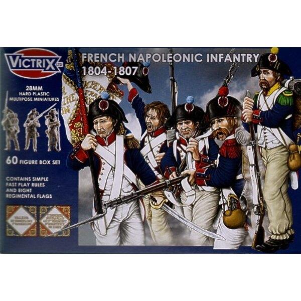 Infanterie française - époque napoléonienne 1804-1807
