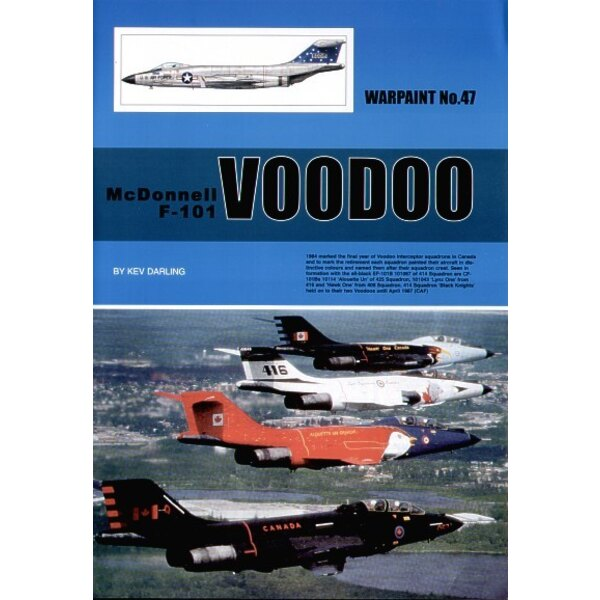 McDonnell F-101 Voodoo By Kev Darling (Hall Park Books Limited)