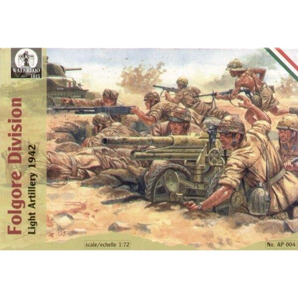 Artillerie légère de la division Folgore