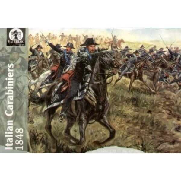Italian Carabiniers 1848 (12 men/12 horses)