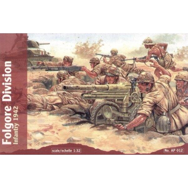Infanterie de la division Folgore 1942