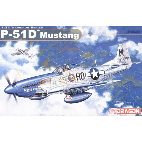 North American P-51D Mustang. USAF PETIE 2nd Double Trouble Two Kay's Kite