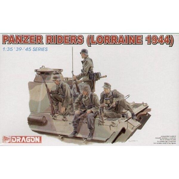 Infanterie montée sur Panzer Lorraine '44