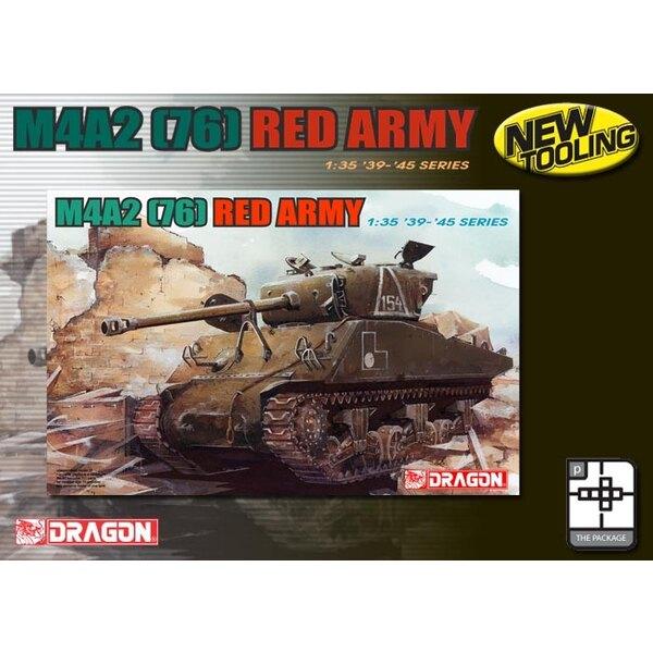 Sherman M4A2 (76) de l'Armée Rouge