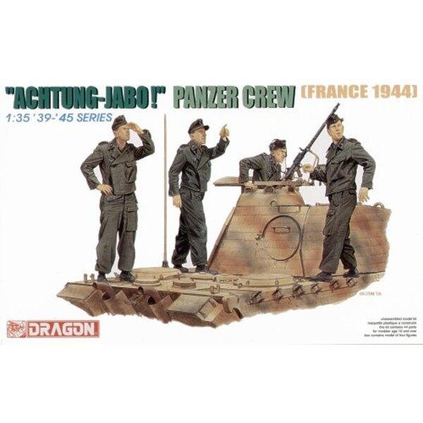 équipage de Panzer Achtung Jabo '44