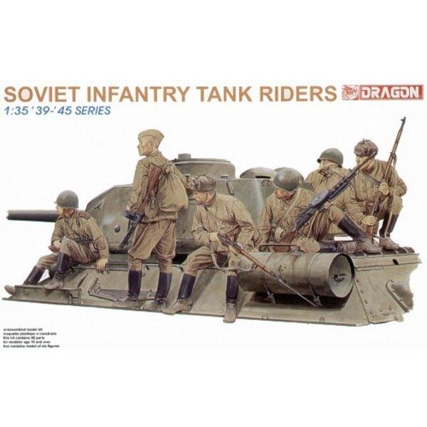 Infanterie portée sur char de la 2ème GM soviétique