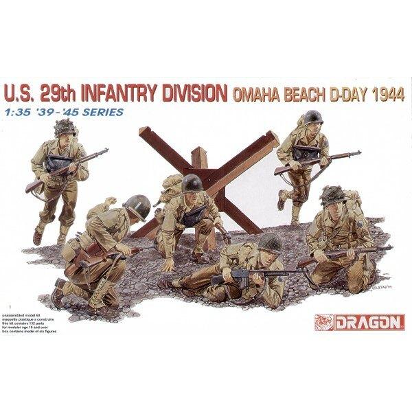 29ème Division d'infanterie US - Omaha Beach 1944