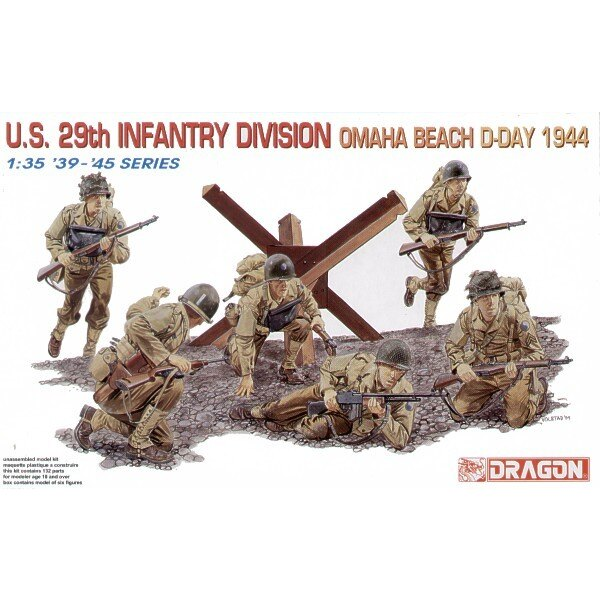 US 29th Infantry Division Omaha Beach 1944