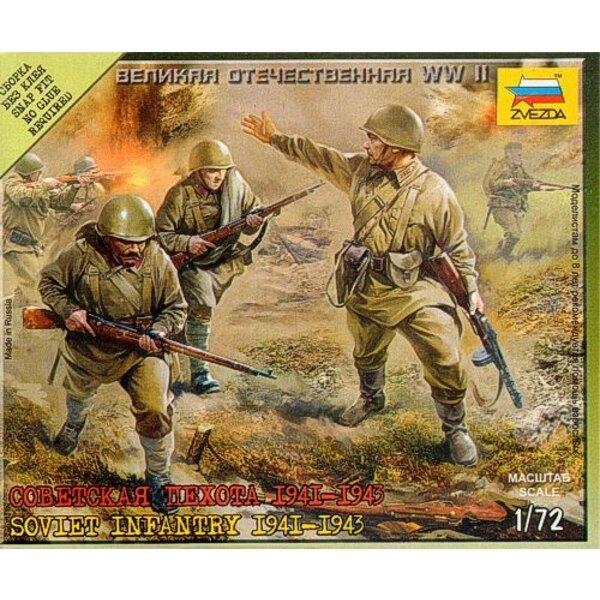 Infanterie soviétique 1941-1943