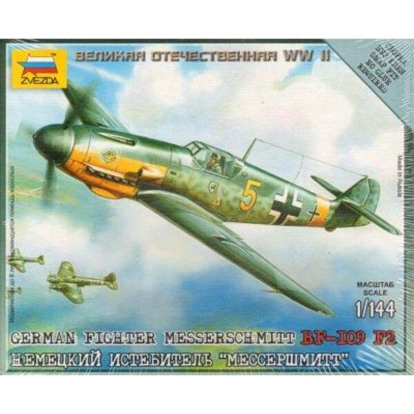 Messerschmitt Bf 109F-2 avec socle de présentation