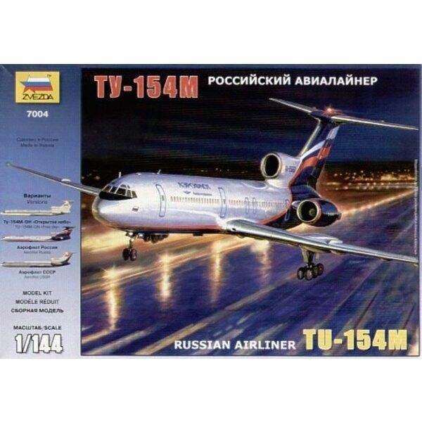 Tupolev Tu-154M. Décalques Free Sky, Aéroflot Russie, Aéroflot URSS