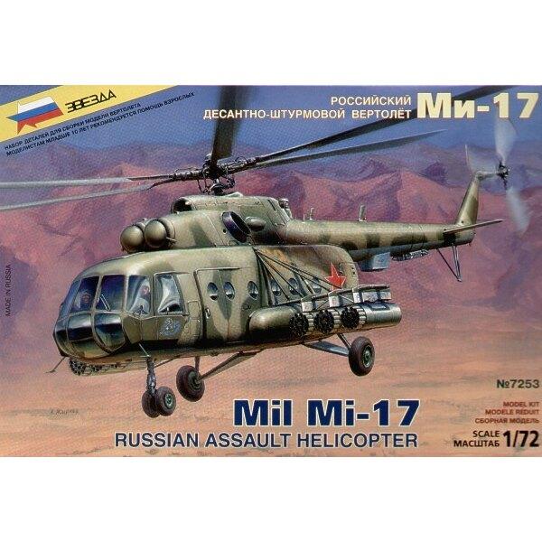 Hélicoptère d'assaut Russe Mil Mi-17