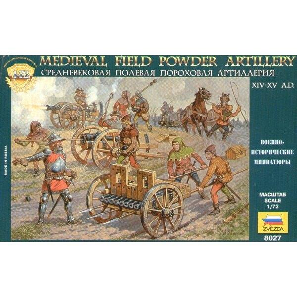 Artillerie de campagne médiévale à poudre