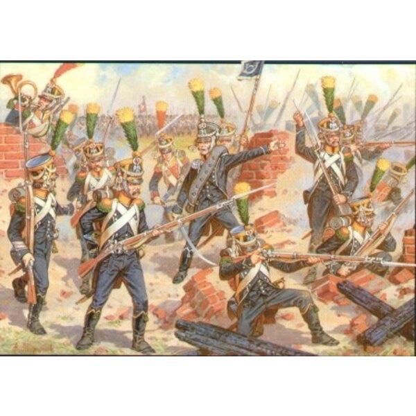 French Voltigeurs Elite Infantry 1805-1813
