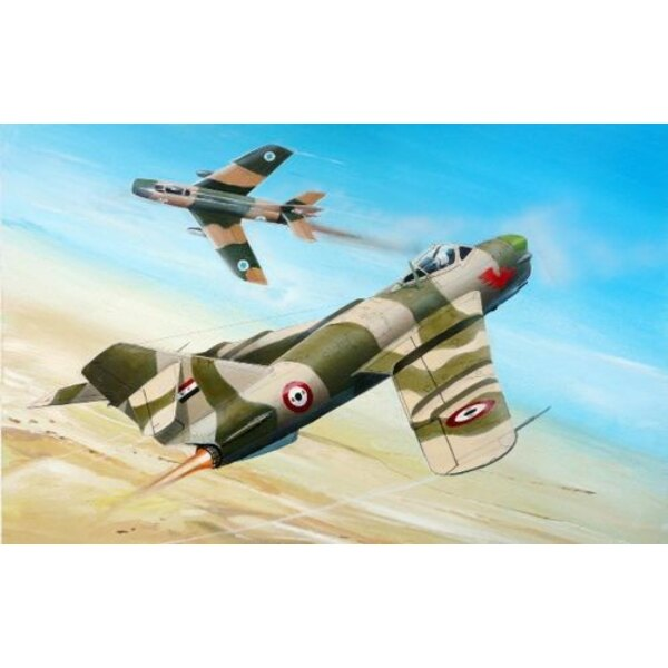 MiG-17PF - USSR, Vietnam, Egypt, Inonesia
