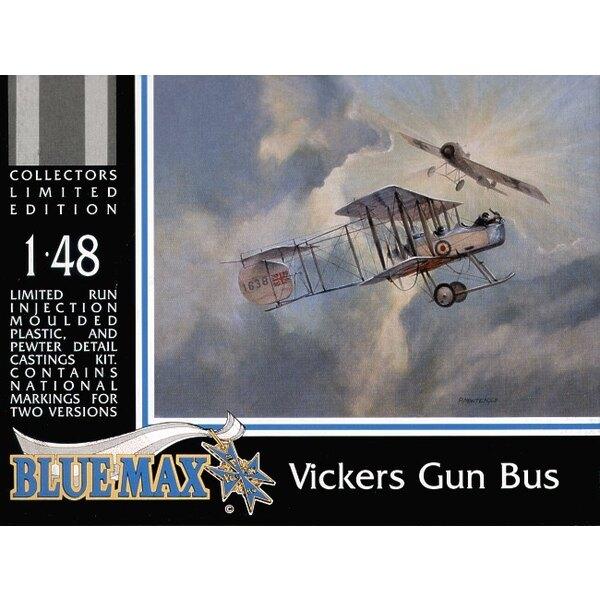 Vickers F.B.5 Gun Bus au 1/48ème. Il est produit à nos standards les plus hauts, complet avec une pleine boîte de présentation c