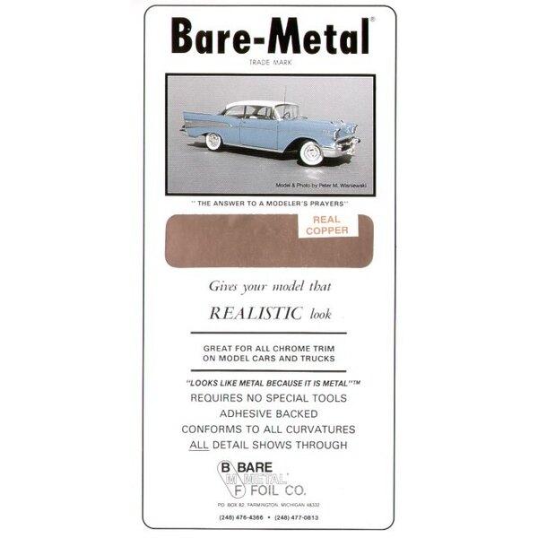 BARE METAL FOIL Copper (self adhesive)