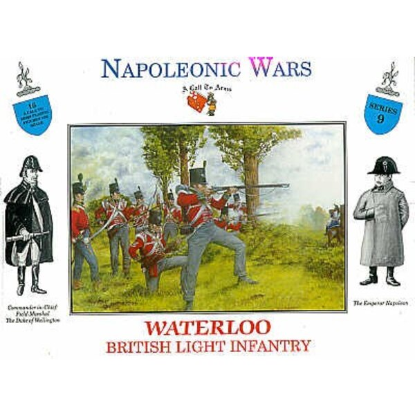 Infanterie britannique Waterloo 16 figurines
