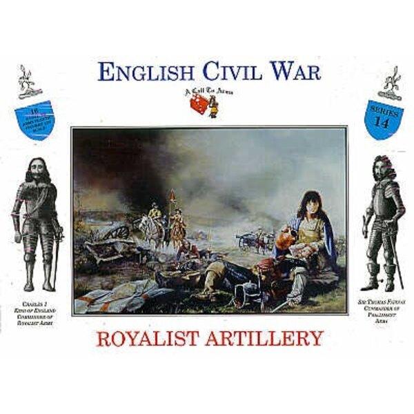 Artillerie Royaliste 16 figurines
