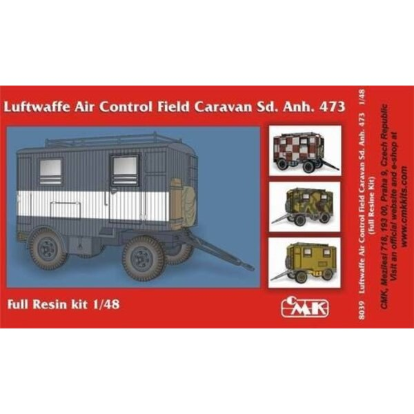 Luftwaffe Air Control Field Caravan Sd.Anh.473 WWII
