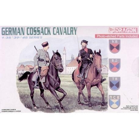 2 Cosaque allemands à cheval
