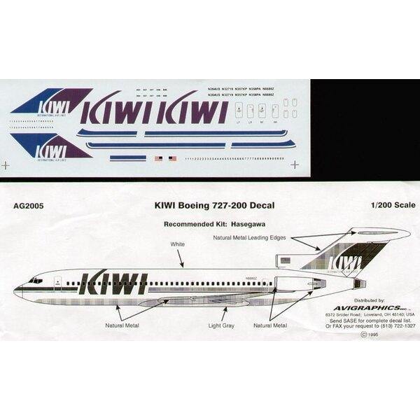 Boeing 727-200 KIWI INTERNATIONAL N264US/32719