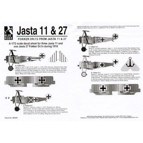 Fokker Dr.I Triplane from Jasta 11 & 27 (4)