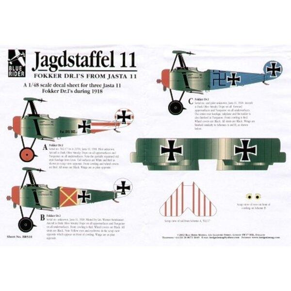 Fokker Dr.I Triplane Jasta 11 1918 (3)