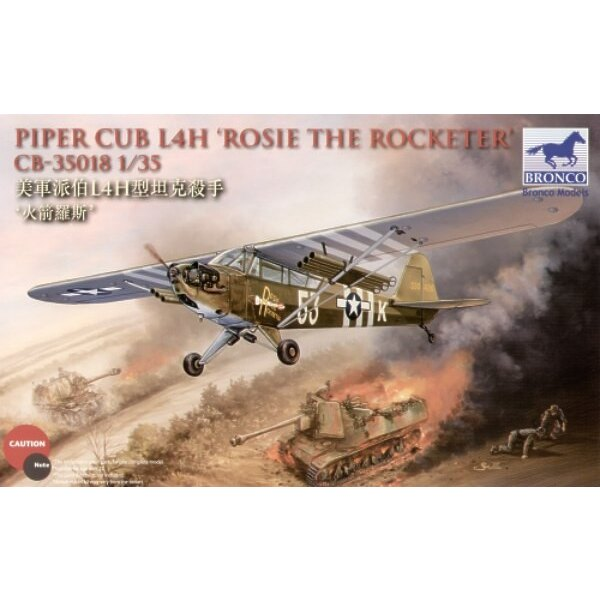 Piper Cub L4H `Rosie The Rocketeer'