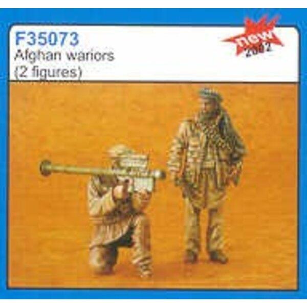 2 x Afghan warriors