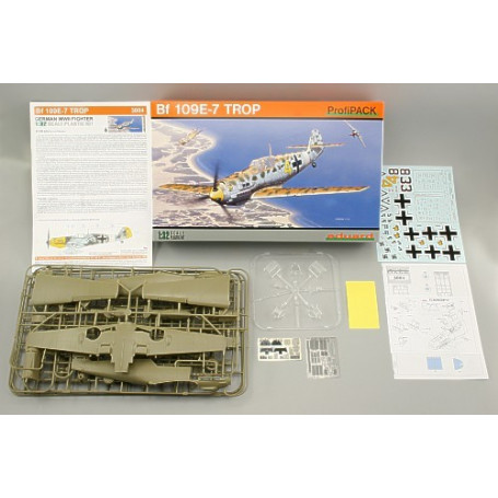 Messerschmitt Bf PROFIpack 109E-4/7 Tropical