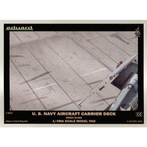 Pont de porte-avion USN de la 2ème GM : 300 mm x 400 mm