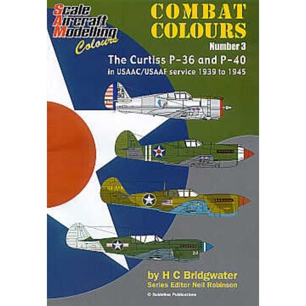 Livre Curtiss P-36 Hawk and Curtiss P-40 in USAAC/USAAF service 1939-45 Combat Colours Number 3.