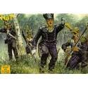 infanterie légère française napoléonienne - 48 figurines. infanterie légère française post 1812.