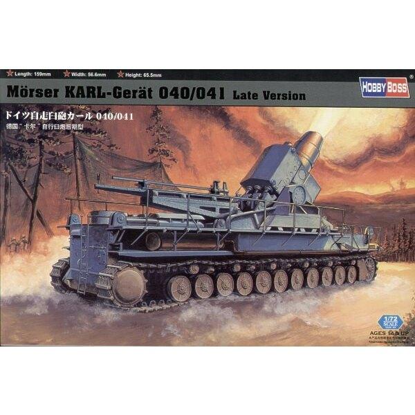 Morser Karl Geraet 040/041 avec chassis tardif