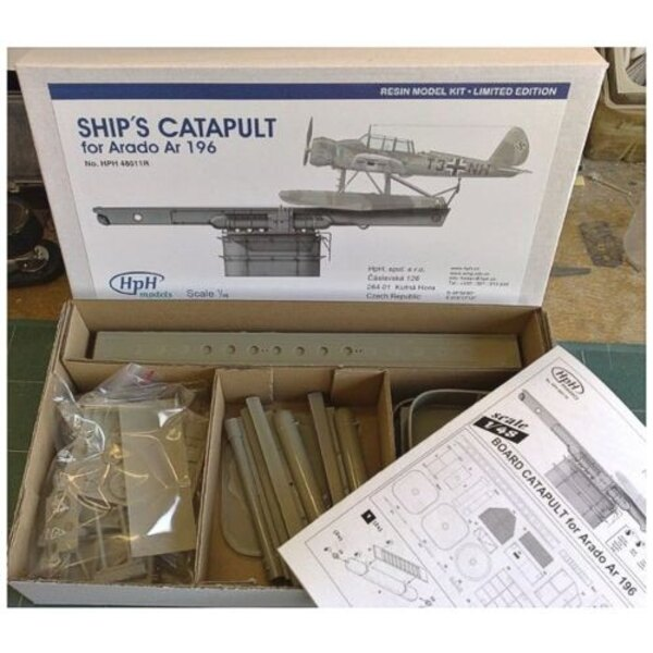 Catapulte de bateau pour Ar-196 Arado