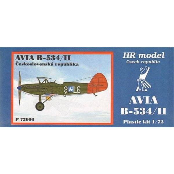 Avia B-534/II. Décalques CSR; inclut pièces photodécoupées