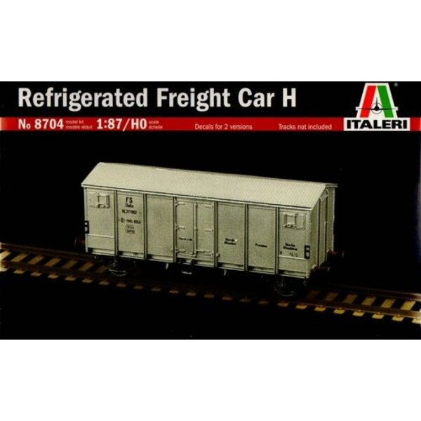 Refrigerated Freight Car H (Decals for 2 versions)