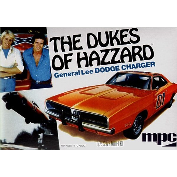 Back In Stock! The Dukes of Hazzard General Lee 1969 Dodge Charger