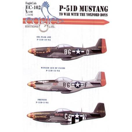 Eagle Cal 1/48 North American P-51D Mustang 357th FG Pt 3