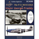 décal the north american p-51 mustangs of major george preddy. superb fully illustrated 26 page book