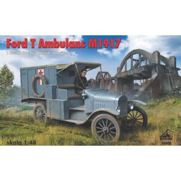 Ambulance Ford T - M 1917