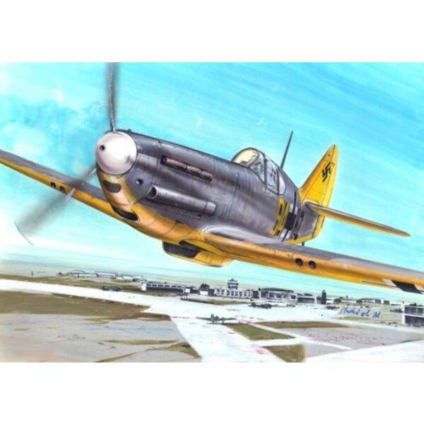 Dewoitine D.520. Décalques Luftwaffe