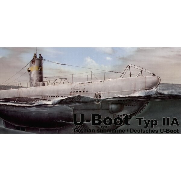 U-Boat Type IIA Injection moulded (submarines)