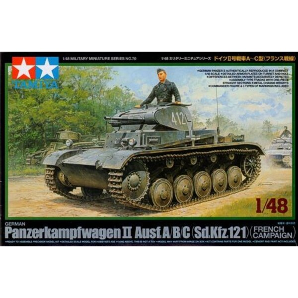 Panzerkampfwagen II Ausf A/B/C (Sd. Kfz.121) Campagne de France