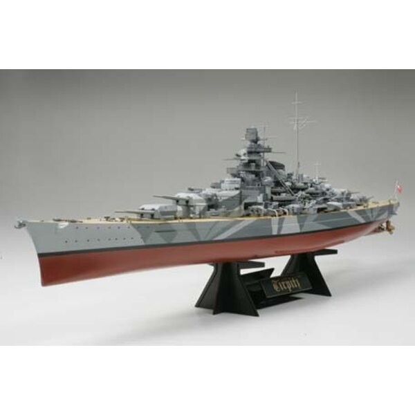 Le cuirassé allemand était Tirpitz le seul navire soeur du Bismarck; le Tirpitz était un souci perpétuel pour la Royal Navy ca
