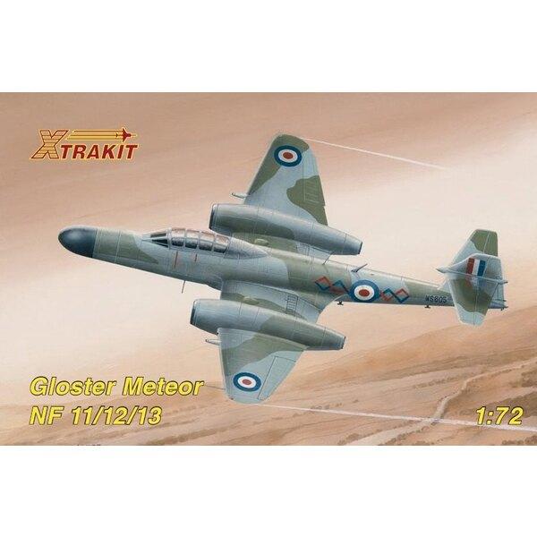 Gloster Meteor NF.11/12/14 (ex Matchbox) les détails photodécoupés sont disponibles sur la référence Airwaves 72097