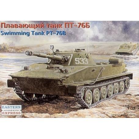 PT-76B char amphibie soviétique (version tardive)