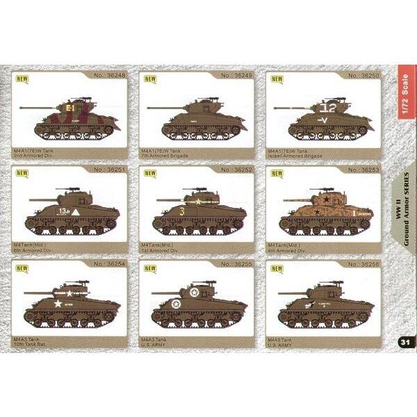 Sherman M4A1 Brigade Blindée israélienne